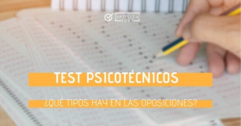 Imagen de mano de persona rellenando test de respuesta múltiple para ilustrar el concepto de test psicotécnicos en oposiciones