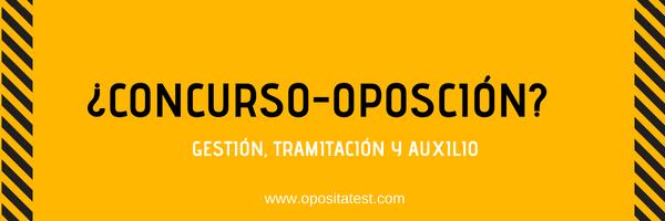 Imagen sobre el posible concurso-oposición de Gestión, Tramitación y Auxilio