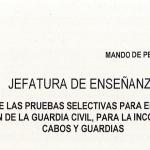 Resolución de la Guardia Civil