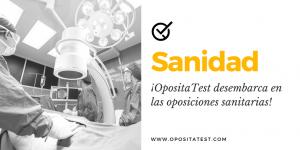 Oposiciones sanidad OpositaTest