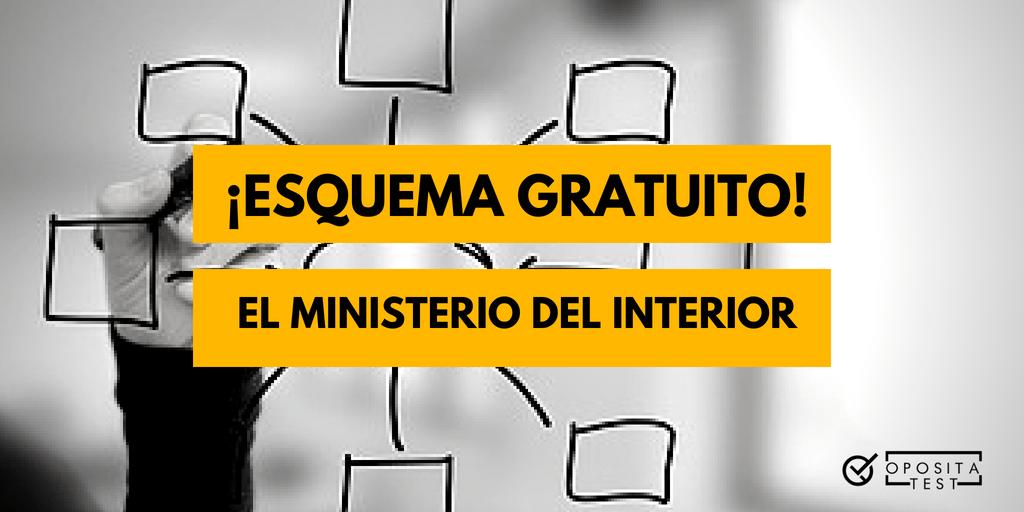 Esquema Gratuito La Estructura Del Ministerio Del Interior