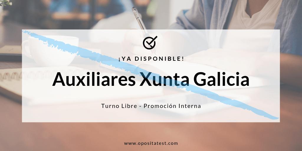 Auxiliar Administrativo Xunta de Galicia