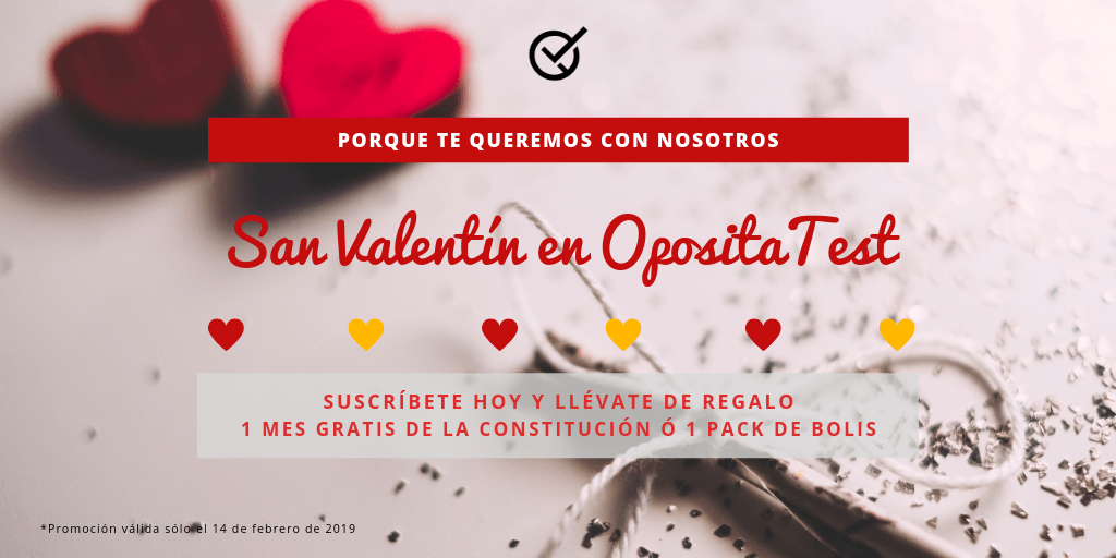 Promo san valentin oposiciones