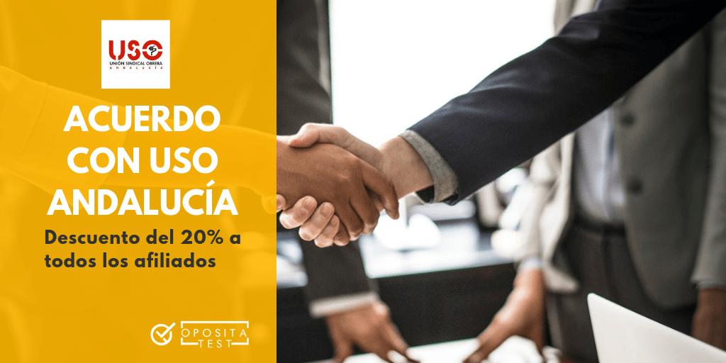 Acuerdo USO Andalucía OpositaTest