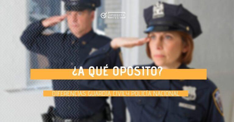 Imagen genérica de profesionales de los cuerpos de seguridad del estado fuera de foco para ilustrar las diferencias entre Guardia Civil y Policía Nacional