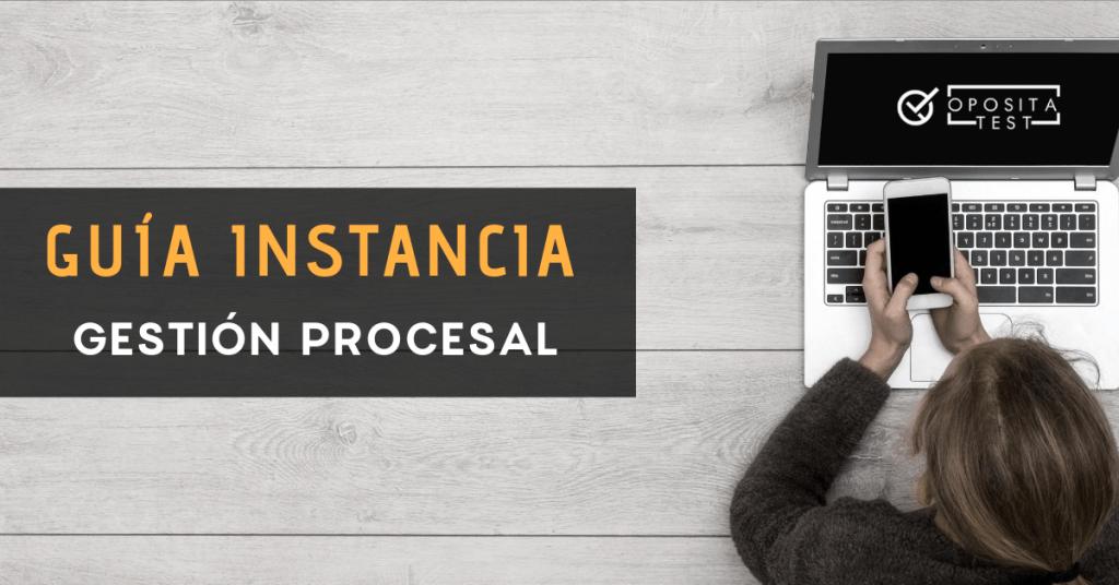 Presentación solicitud gestión procesal