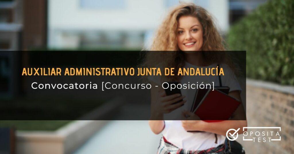 Convocatoria Auxiliar Andalucía