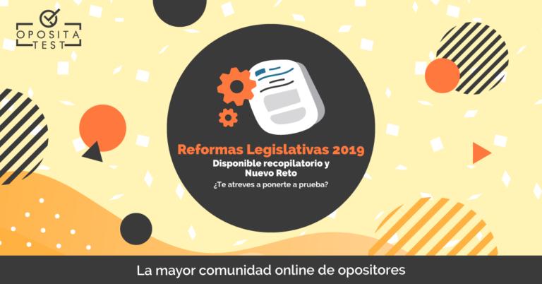 reformas legislativas 2019