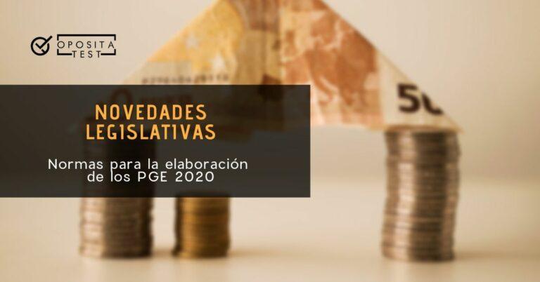 Imagen genérica de billetes y monedas de la zona euro para acompañar un post sobre las normas para la elaboración de los PGE 2020