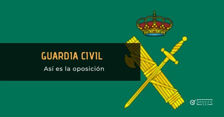 Imagen genérica con escudo guardia civil fuera de foco para acompañar una entrada en la que se analiza la oposición a Guardia Civil