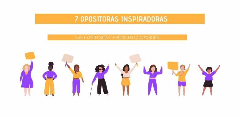 Imagen ilustrativa de mujeres de distintas fisionomías para acompañar un post en el que se recopilan entrevistas a opositoras inspiradoras en el Día Internacional de la Mujer Trabajadora