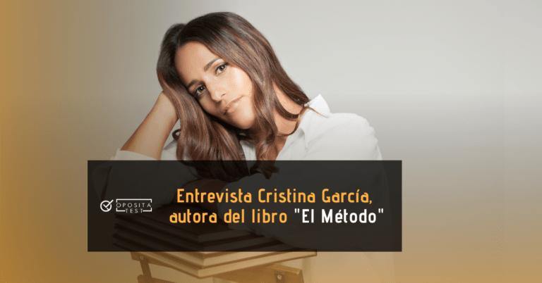 """Fotografía de Cristina García Martínez, autora del libro de preparación de oposiciones """"El Método"""""""