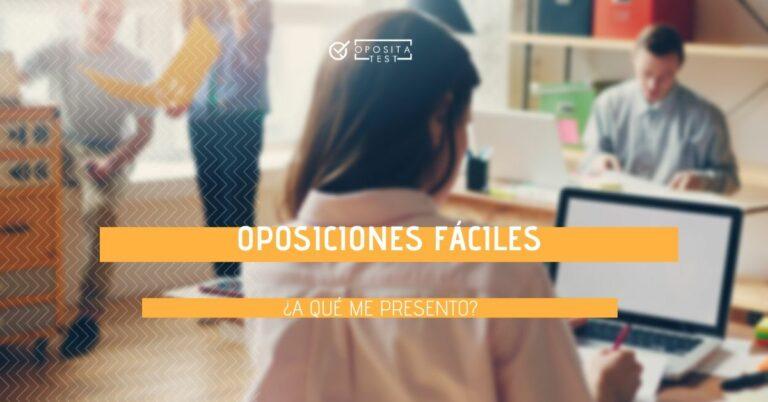 Imagen de grupo de personas en entorno de oficina fuera de foco para acompañar una entrada en la que se analizan las oposiciones más fáciles en España