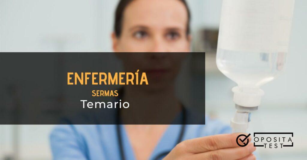 temario enfermería SERMAS