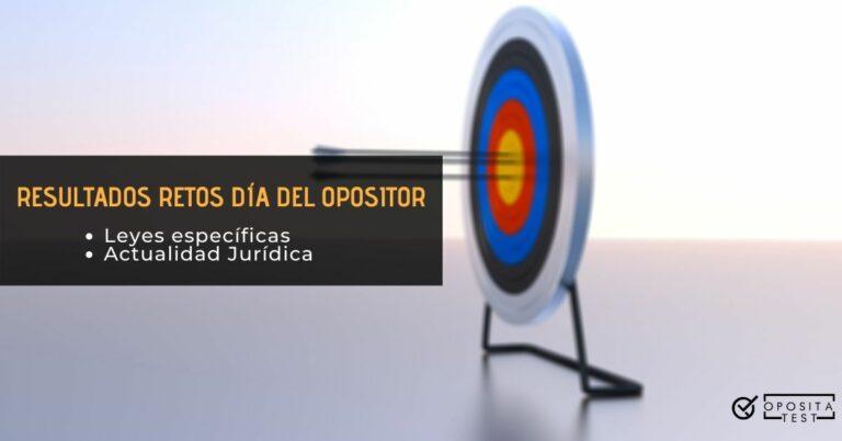 Imagen de diana con flechas en centro fuera de foco para acompañar un post en el que se analizan los resultados de los retos gratuitos del dia del opositor 2020