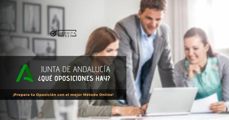 Imagen fuera de foco de profesionales en entorno de oficina para acompañar un post que analiza las oposiciones de la Junta de Andalucía