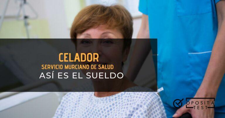 Persona celadora llevando a paciente en una silla de ruedas. Toda la imagen está fuera de foco. Se utiliza para ilustrar una entrada sobre el sueldo de celador del Servicio Murciano de Salud.