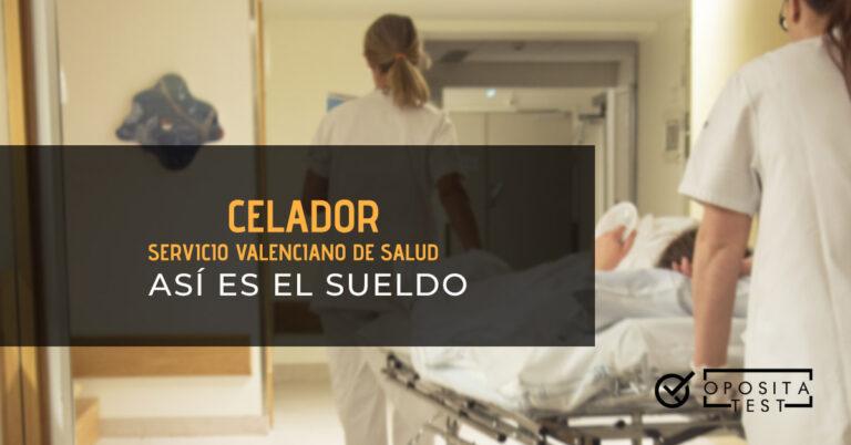 Celadoras llevando a un paciente en una camilla en un hospital. Toda la imagen está fuera de foco. Se utiliza para ilustrar una entrada sobre el sueldo de celador en el Servicio Valenciano de Salud.