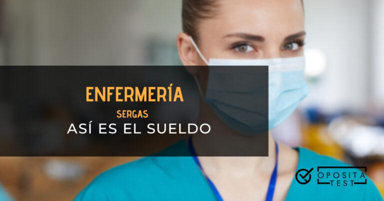 Enfermera con una mascarilla posando. Toda la imagen está fuera de foco. Se utiliza para ilustrar una entrada sobre el sueldo de enfermería del SERGAS.