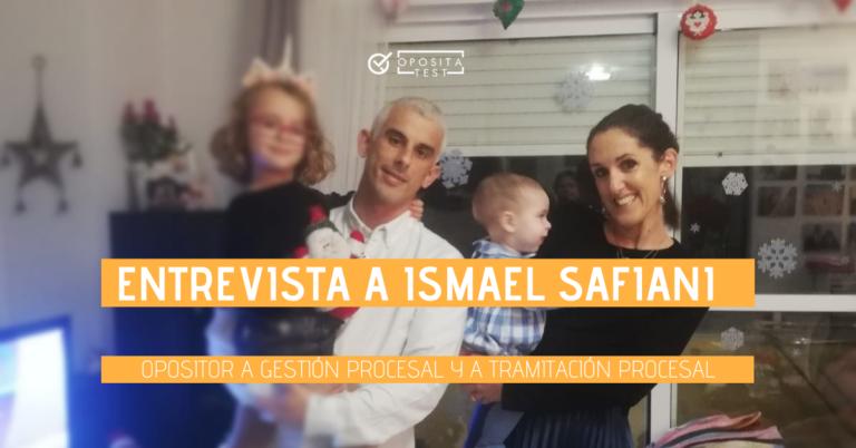 Ismael Safiani con su mujer e hijos. Se utiliza en una entrada en la que se entrevista al opositor Ismael Safiani.