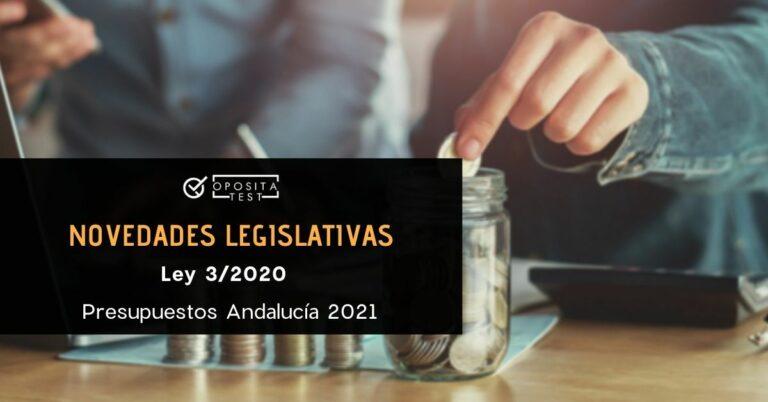 Imagen fuera de foco de persona introduciendo monedas en un tarro con calculadora. Acompaña a una entrada en la que se analizan las oposiciones y temarios afectados por la Ley 3/2020, por la que se establecen los Presupuestos de Andalucía para el año 2021