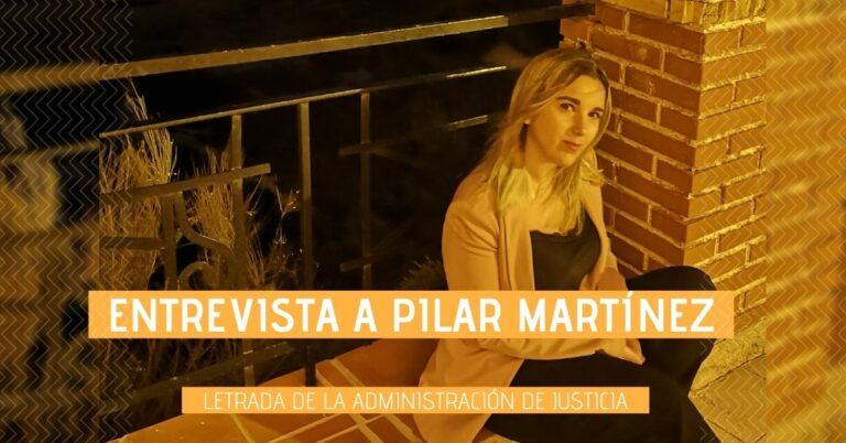 Foto de Pilar Martínez, aprobada en Letrados de la Administración de la Justicia que usó OpositaTest durante su preparación