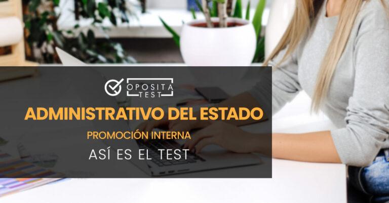 Mujer tecleando en un portátil. Toda la imagen está fuera de foco. Se utiliza para ilustrar una entrada sobre cómo es el test de Administrativo del Estado para Promoción Interna.