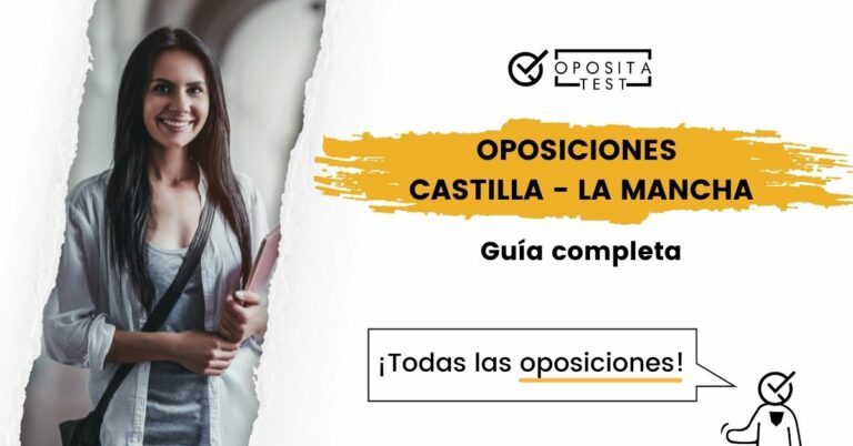 Imagen que ilustra el post sobre las oposiciones de Castilla - La Mancha